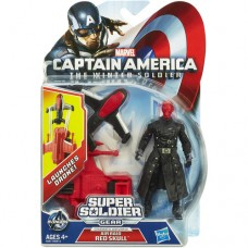 Marvel Captain America Super Soldier Gear Air Raid Red Skull Action Figure